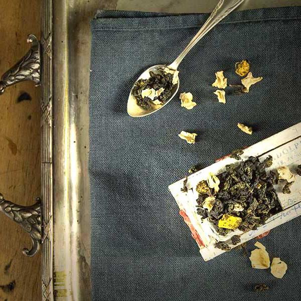 Oolong- halbfermentierter Tee