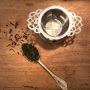 Teesieb aus Edelstahl Teestübchen