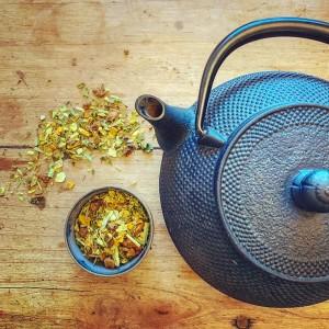Tee Teestübchen Koenigin der Kraeuter