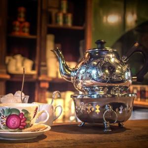 Tee Silber Stövchen